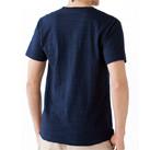 スラブTシャツ(MS1143)背面(着用)