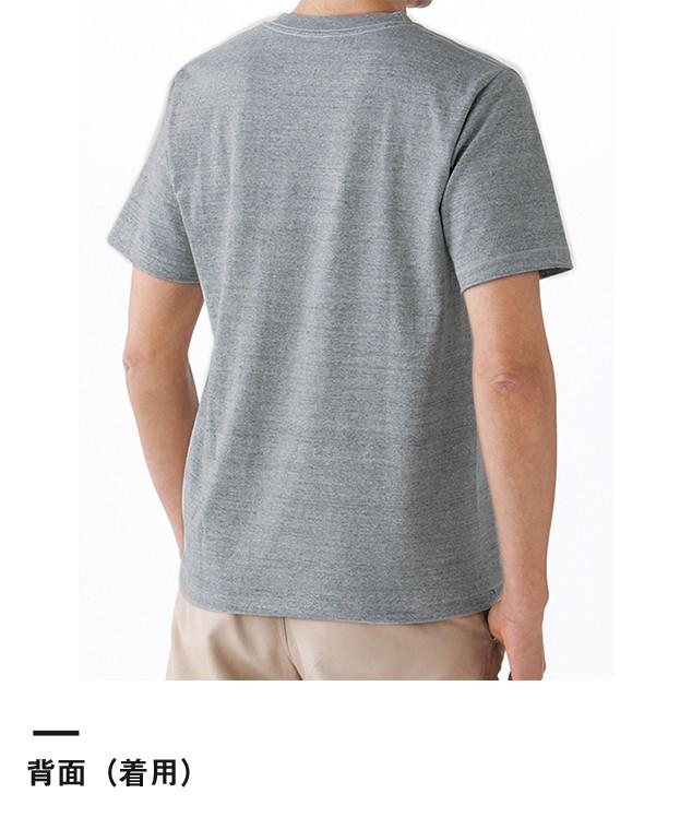 ポケット付き7.1オンスTシャツ(MS1145)背面(着用)