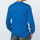 ドライロングスリーブTシャツ(MS1603)背面(着用)