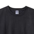 10.2オンス スーパーヘビーウェイトロングスリーブTシャツ(MS1608)襟