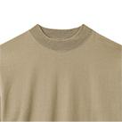 10.2オンススーパーヘビーウェイトモックネックTシャツ(MS1610)襟