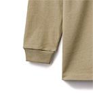 10.2オンススーパーヘビーウェイトモックネックTシャツ(MS1610)袖リブ