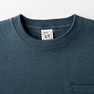オープンエンド マックスウェイトポケットTシャツ(OE1117)襟