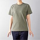 オープンエンドマックスウェイトバインダーネックTシャツ(OE1118)身長165cm Sサイズ着用