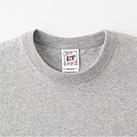 オープンエンドマックスウェイトバインダーネックポケットTシャツ(OE1119)襟(二本針バインダー仕様)