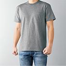 オープンエンドマックスウェイトバインダーネックポケットTシャツ(OE1119)身長175cm Mサイズ着用