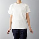 オープンエンドマックスウェイトバインダーネックポケットTシャツ(OE1119)身長165cm Sサイズ着用