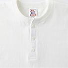 オープンエンドマックスウェイトヘンリーネックTシャツ(OE1120)ヘンリーネック
