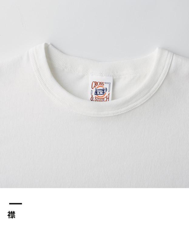 オープンエンド3/4スリーブベースボールTシャツ(OE1230)襟