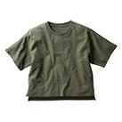 オープンエンドマックスウェイトウィメンズオーバーTシャツ(OE1301)正面