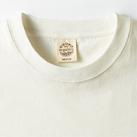 オーガニックコットンTシャツ(OGB-910)襟はひと手間加えた二本針縫製