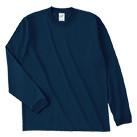 オープンエンドマックスウェイトロングスリーブTシャツ(リブ有り)(RL1216)正面