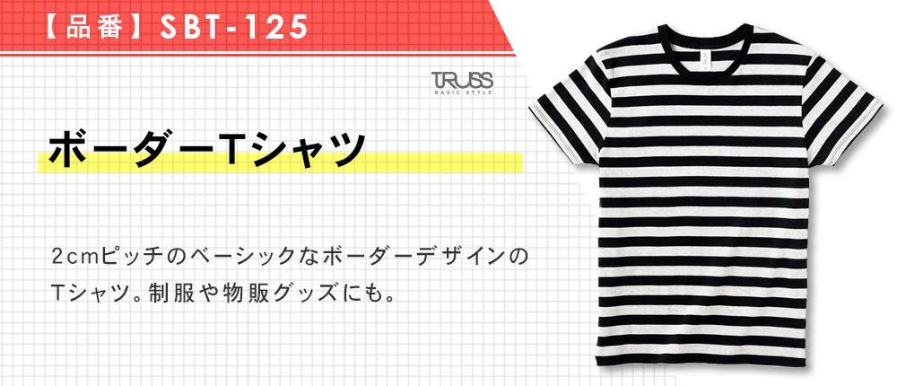 ボーダーTシャツ(SBT-125)4カラー・4サイズ
