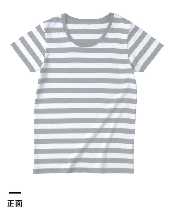 ウィメンズボーダーTシャツ(SBT-126)正面