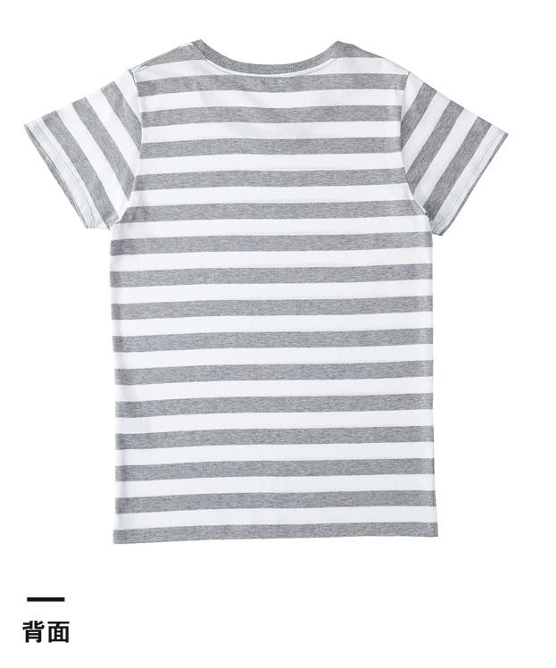 ウィメンズボーダーTシャツ(SBT-126)背面