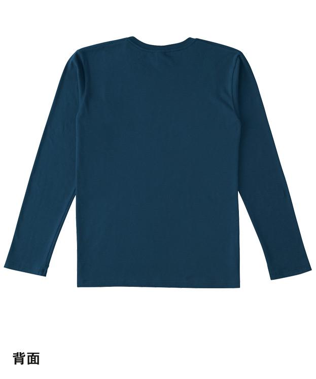 スリムフィットロングスリーブTシャツ(SFL-110)背面