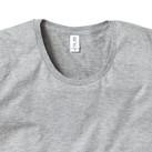 スリムフィットUネックロングスリーブTシャツ(SUL-116)襟