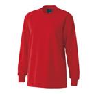 裏綿ハニカムメッシュTシャツ(TCM-088)女性着用イメージ(SS)