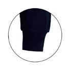 裏綿ハニカムメッシュTシャツ(TCM-088)袖口リブ