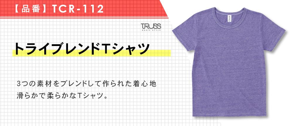 トライブレンドTシャツ(TCR-112)15カラー・5サイズ