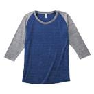 トライブレンドラグラン7分袖Tシャツ(レディース)(TQS-121)正面