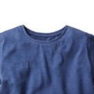 トライブレンドワイドTシャツ(TWD-134)襟
