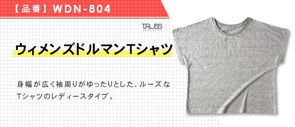 ウィメンズドルマンTシャツ(WDN-804)6カラー・1サイズ