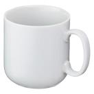 マグカップ・ラウンドタイプ小(200ml)(白)(068942)正面
