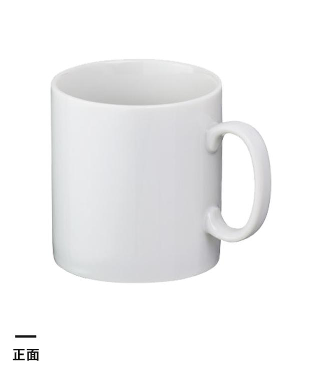 マグカップ・ストレートタイプ小(220ml)(白)(069147)正面