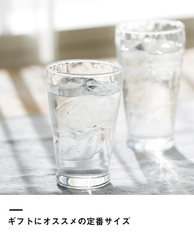 炭酸水グラス(中)(245ml)(121951)ギフトにオススメの定番サイズ