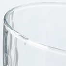 炭酸水グラス(中)(245ml)(121951)表面に模様の入った雰囲気のあるグラス