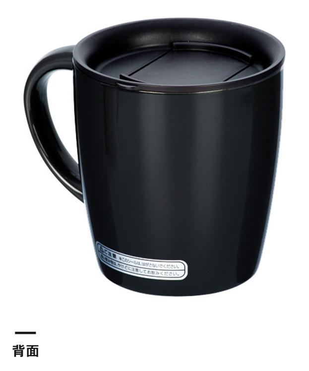 陶器調真空断熱マグカップ(330ml)(145254-154157)背面