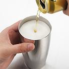 ステンレス/ビアタンブラー(400ml)(シルバー)(159350)薄く削り、美しく磨き上げた口当たりの良い飲み口