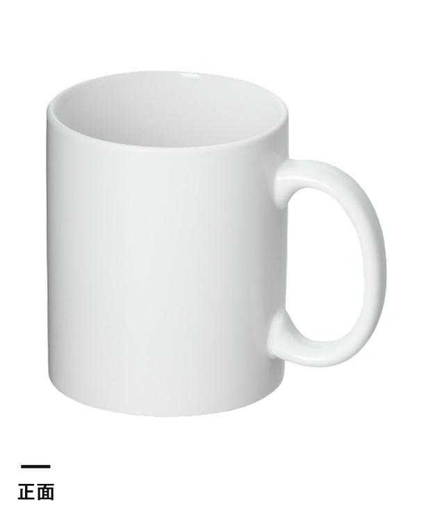 フルカラー転写用マグカップ(マット/350ml)(白)(163548)正面