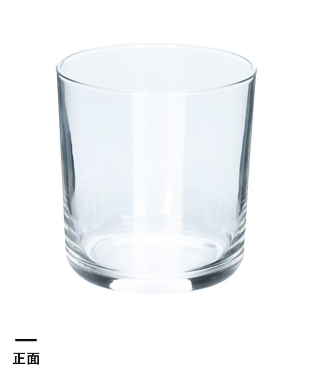 ライトロックグラス(245ml)(クリア)(190742)正面