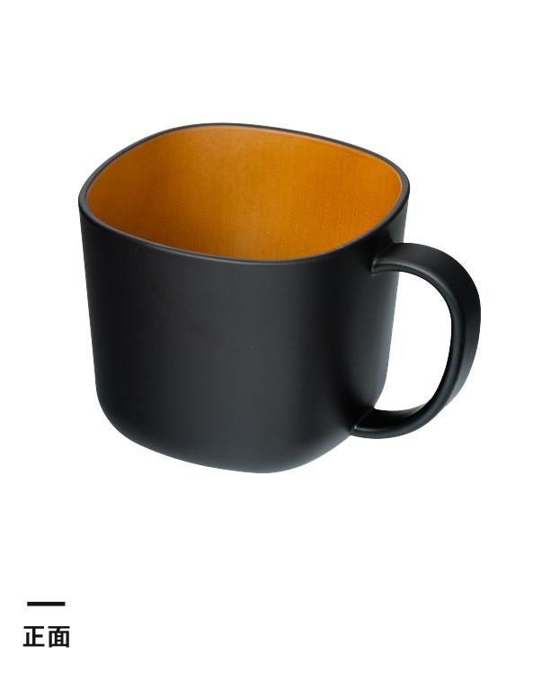 モノトーン木目調マグカップ(280ml)(208348-208447)正面