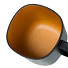 モノトーン木目調マグカップ(280ml)(208348-208447)木目調の塗りがほどこされたこだわりの内塗