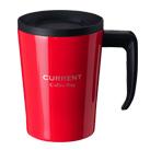 アトラス CURRENT フタ付きコーヒーマグカップ 330ml(ASM-330)前面
