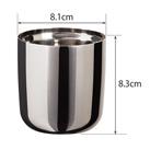 アトラス 真空ステンレスロックグラス260mlクリーンミラー手磨き(AST-260)アイテムサイズ