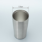 アトラス 真空ステンレスタンブラー450ml(AST-451)口径