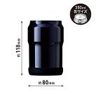 アトラス Wens 缶ホルダー 350ml(AWCH-350)サイズ