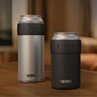 サーモス 保冷缶ホルダー 500ml缶専用(JCB-500)飲み頃の温度をキープ。(左JCB-500)