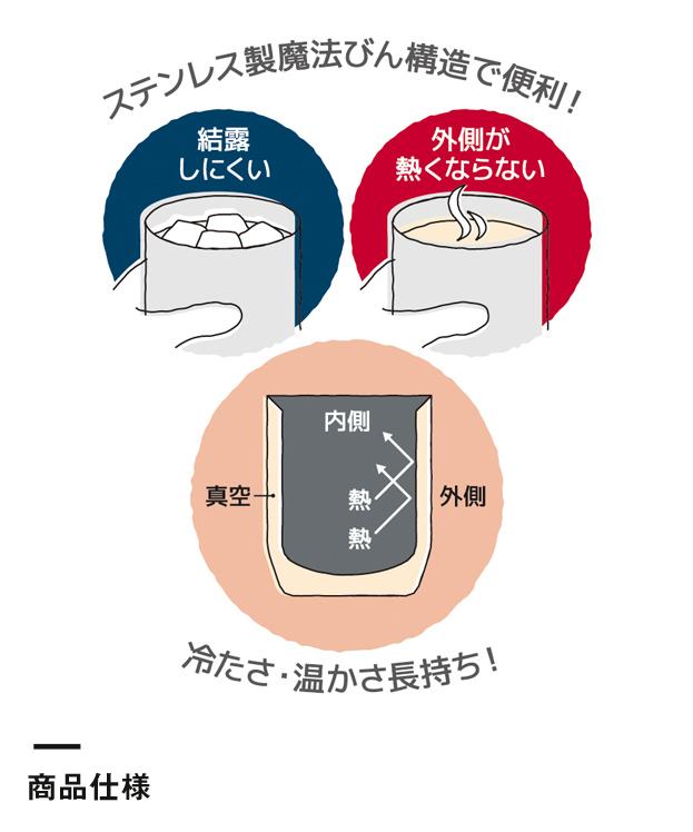 サーモス 真空断熱カップ 280ml(JDH-280C)商品仕様