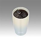 サーモス 陶器調 真空断熱タンブラー 340ml(JDM-340)冷たい飲み物に