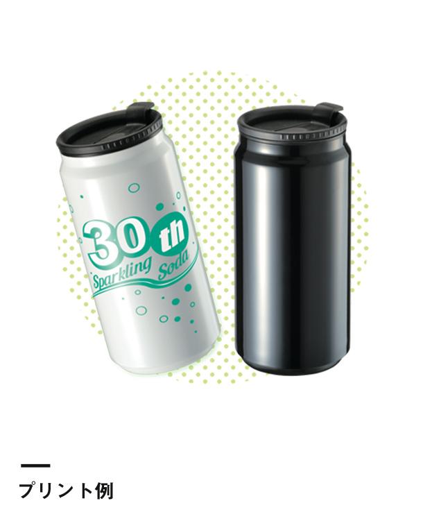 缶型サーモステンレスタンブラー(TS-1282)プリント例