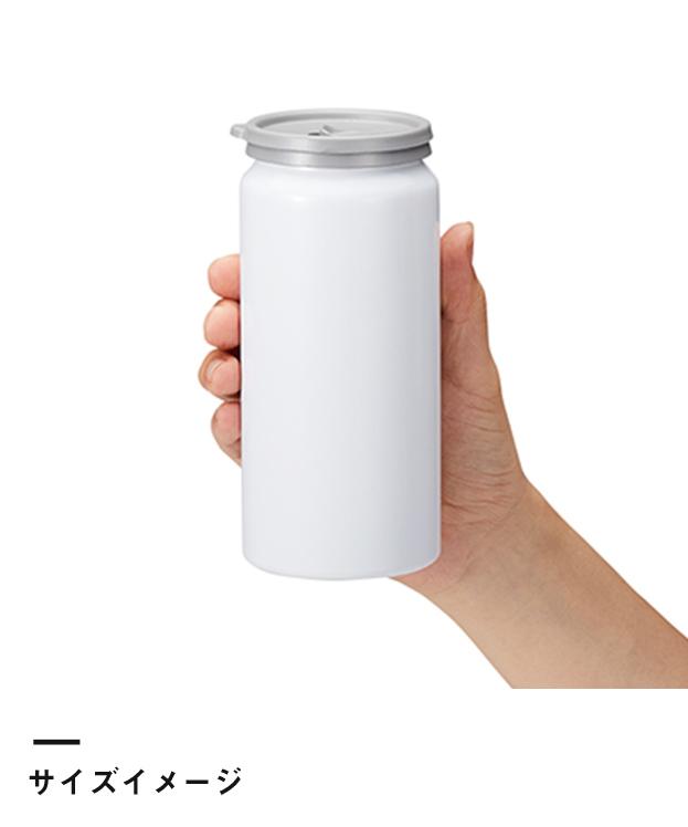 缶型アルミタンブラー 昇華転写対応(TS-1434)サイズイメージ