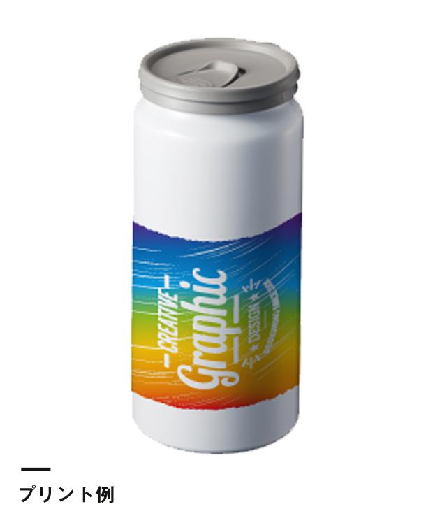 缶型アルミタンブラー 昇華転写対応(TS-1434)プリント例