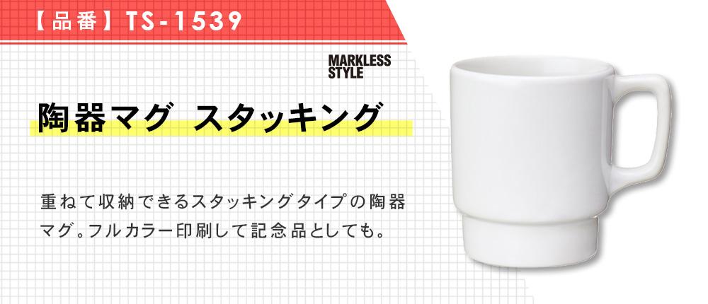 陶器マグ スタッキング(TS-1539)1カラー・容量(ml)260
