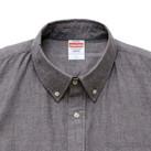 オックスフォードボタンダウンショートスリーブシャツ(1268-01)襟