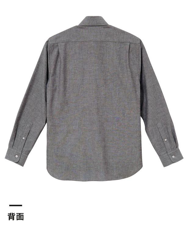 オックスフォードボタンダウンロングスリーブシャツ(1269-01)背面
